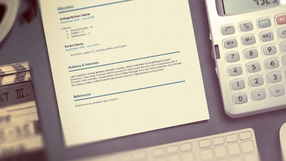 Career Change Cv Template  ReedCoUk