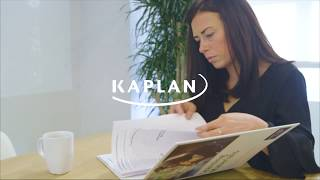 Studying with Kaplan - Laura's story
