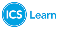 ICS Learn logo