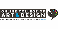 Online College of Art and Design logo