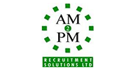 Jobs from AM2PM Recruitment Solutions Ltd