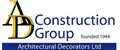 AD Construction group jobs