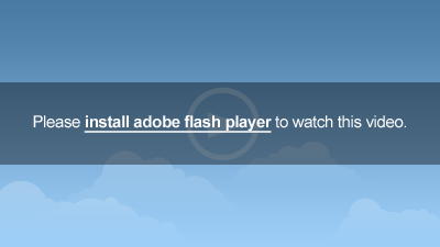 Please install Adobe Flash Player to watch this video