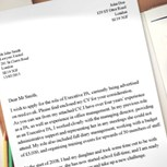 Career break cover letter template image